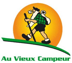 Logo du vieux campeur