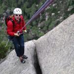 Gianluca moniteur d'escalade