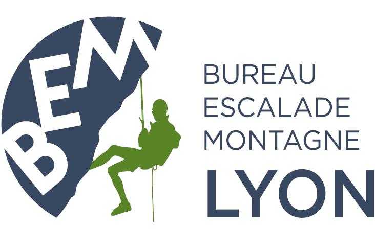 logo bureau escalade montagne lyon