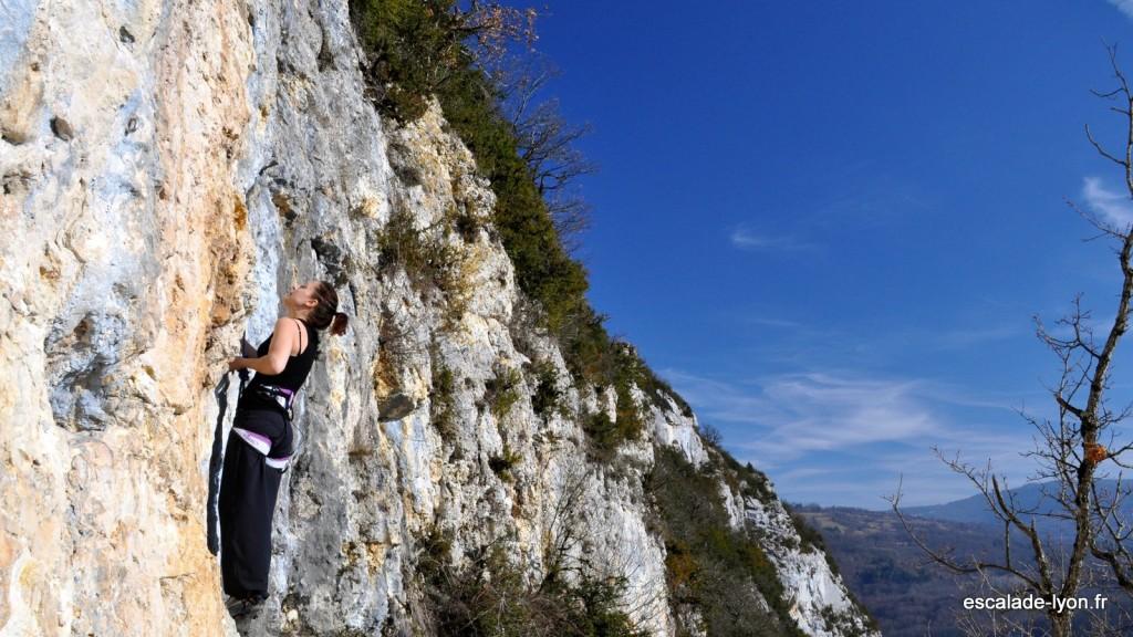 Escalade dans le Bugey à Crept escalade-lyon.fr