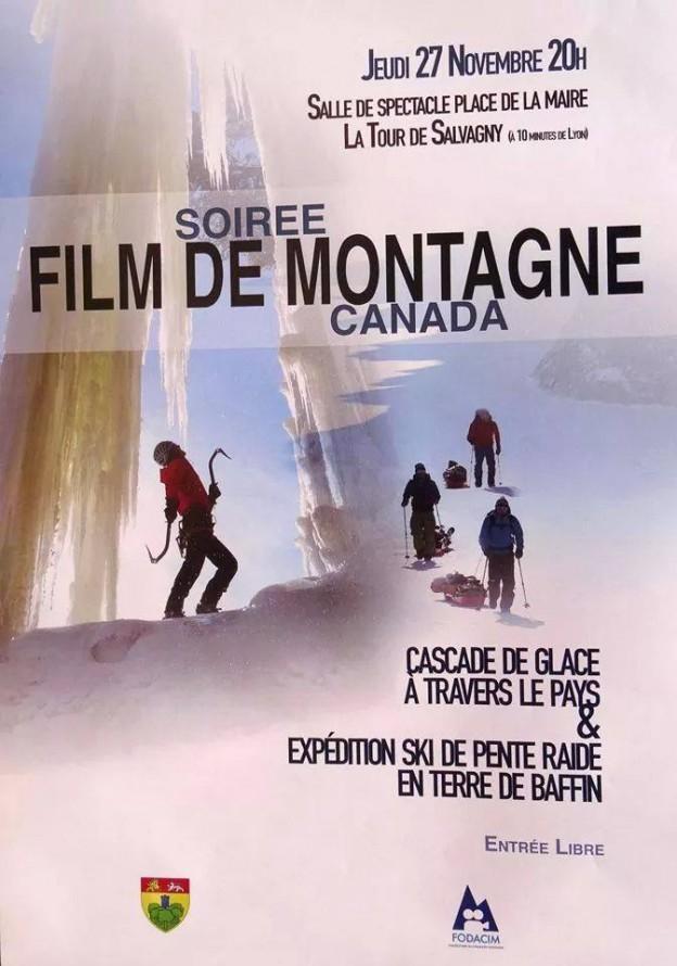 Soirée films de montagne Tour de Salvagny