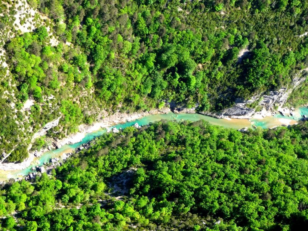 verdon paysage rivière falaise escalade (c) Eric Chaxel