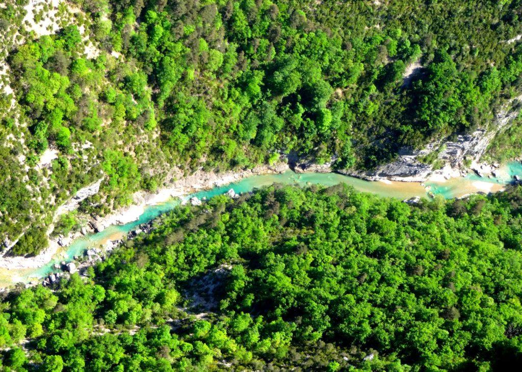 rivière canyon verdon stage escalade grandes voies eric chaxel