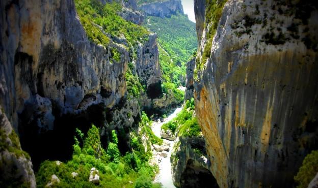 Gorges du Verdon (c) Escalade Lyon