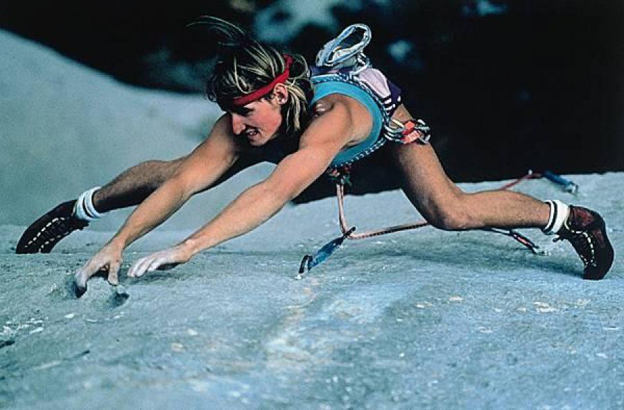 Un grimpeur parmi d'autres associé au Verdon : Patrick Edlinger