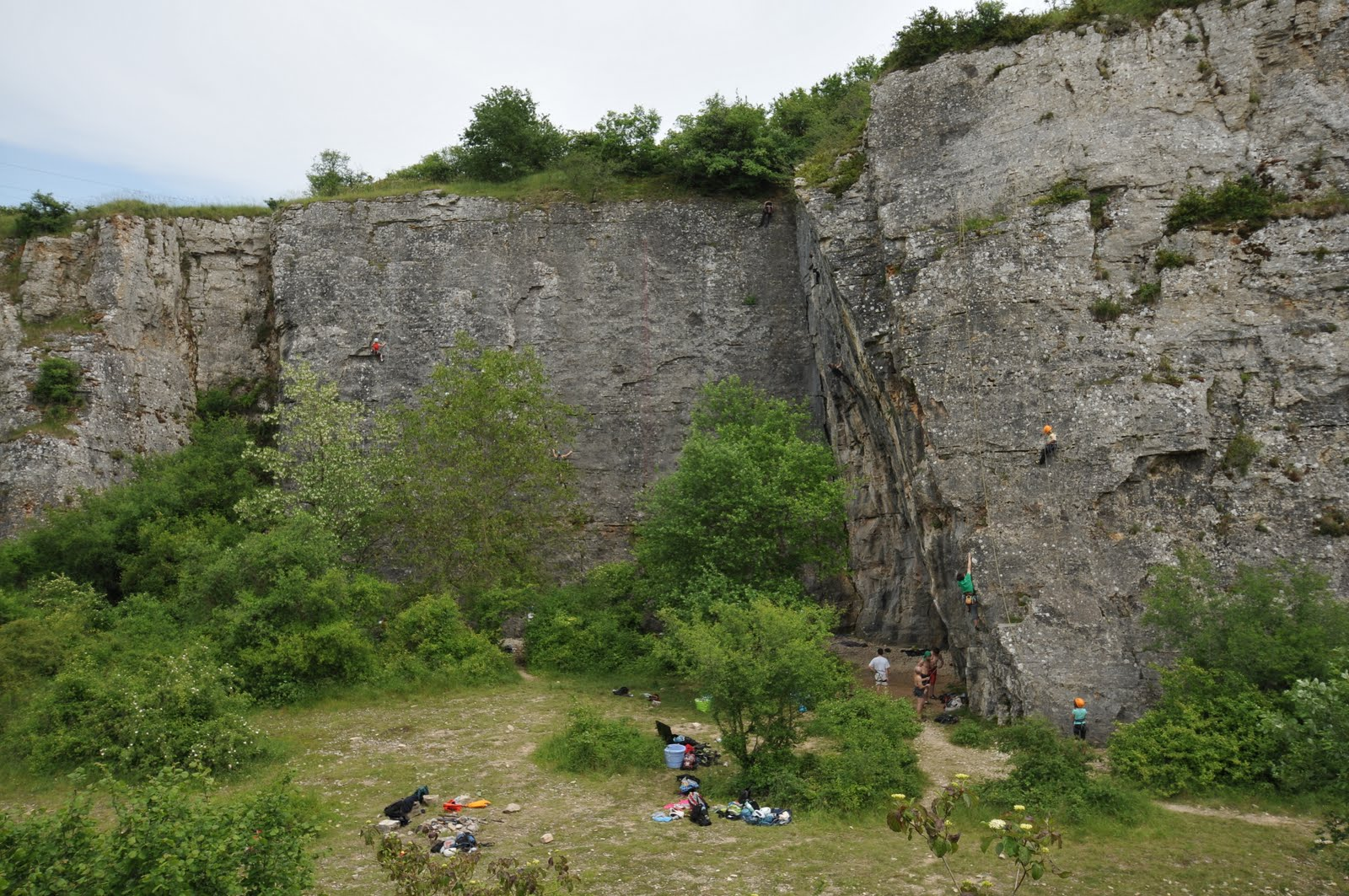 Escalade à Rémigny
