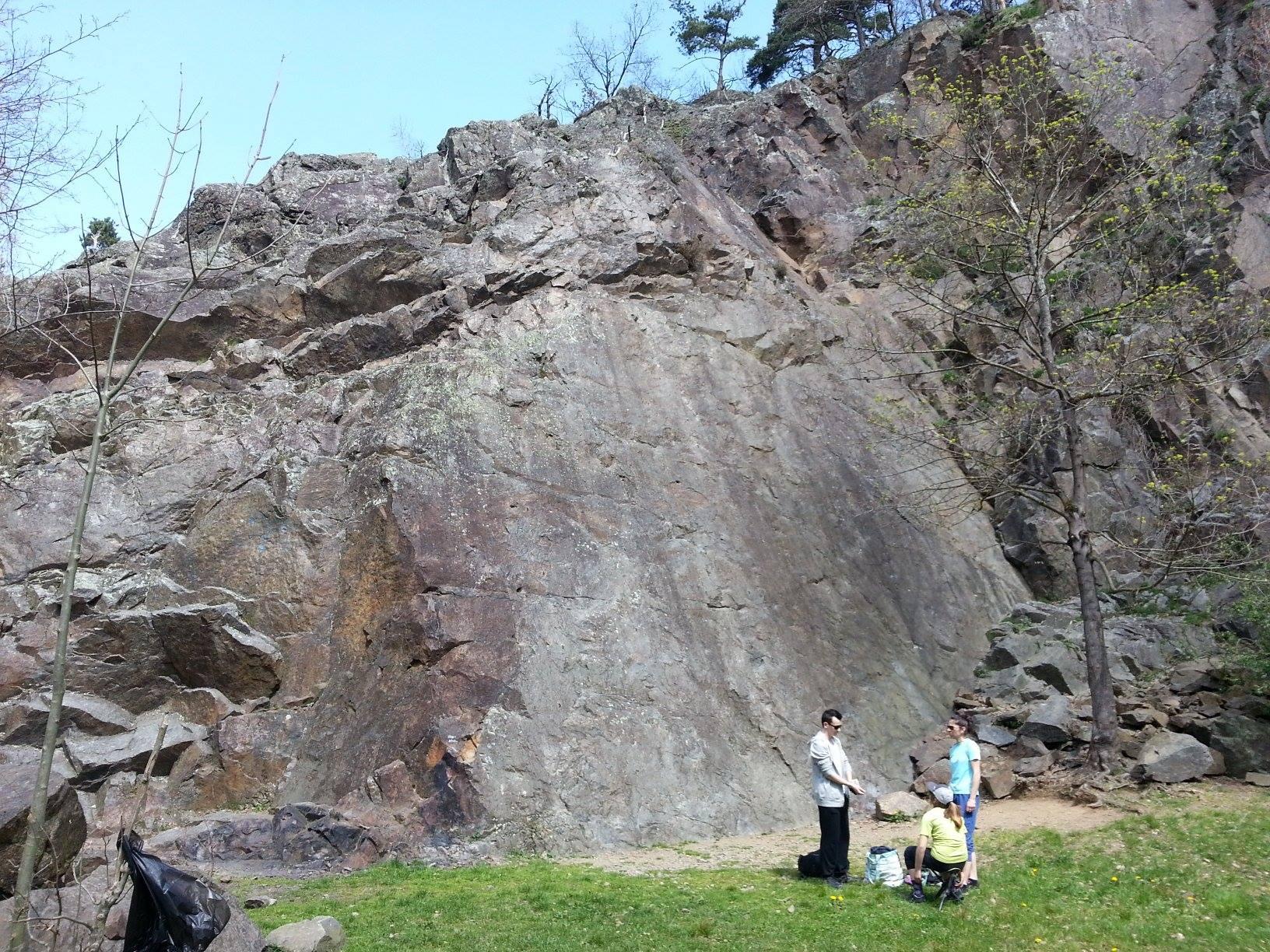 Escalade falaise saint symphorien sur coise escalade-lyon.fr