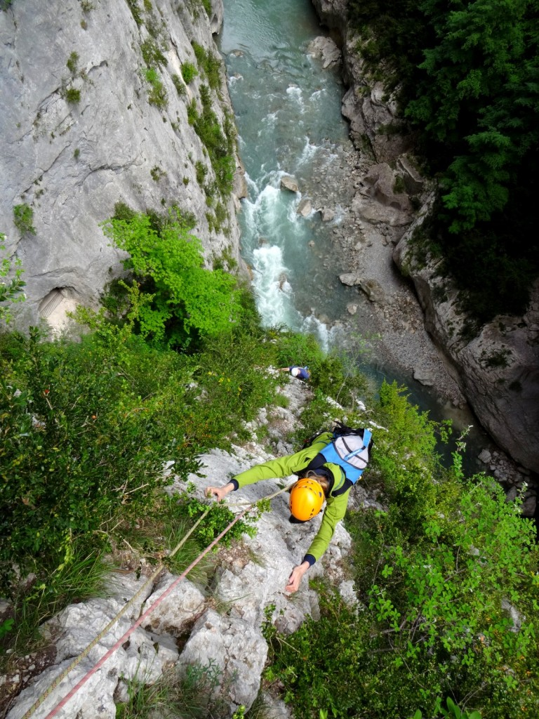 rivière canyon verdon stage escalade grandes voies offre escales eric chaxel