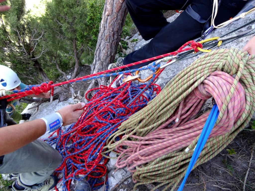 relais cordes verdon stage escalade grandes voies eric chaxel