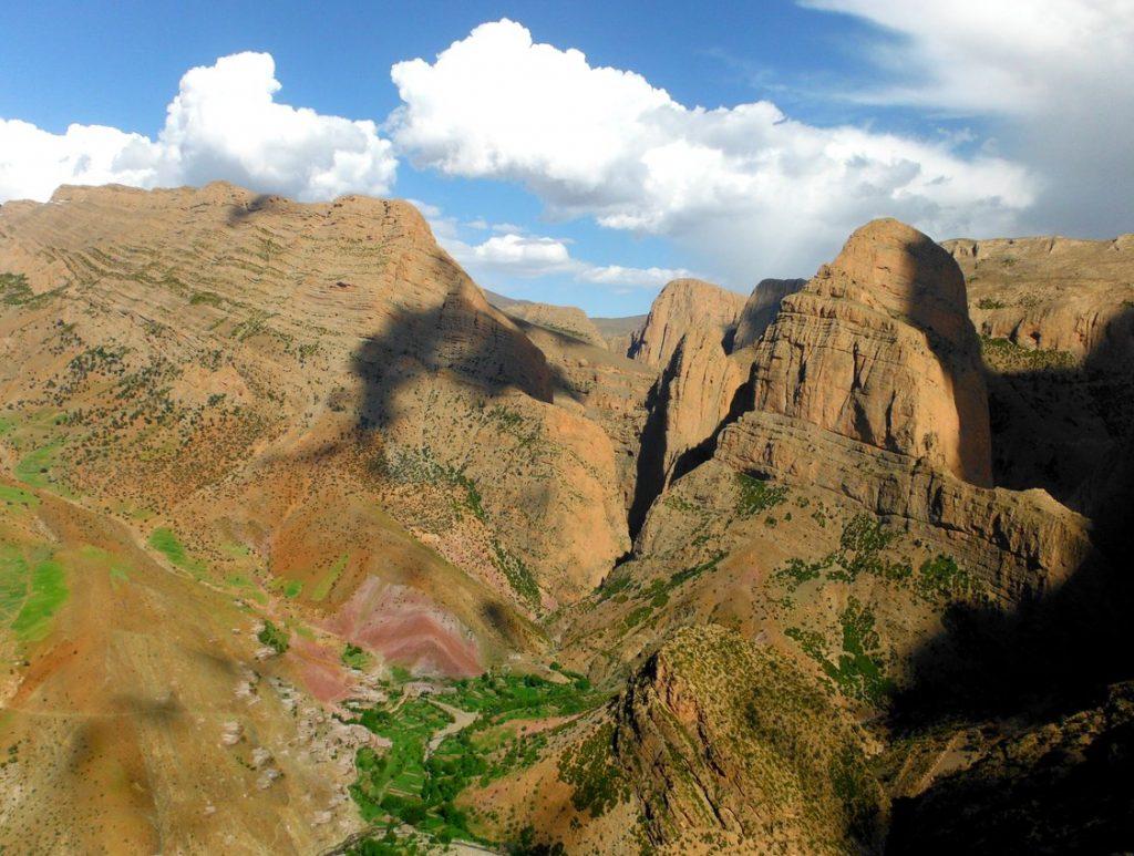 escalade village taghia maroc randonnée atlas Chaxel Eric