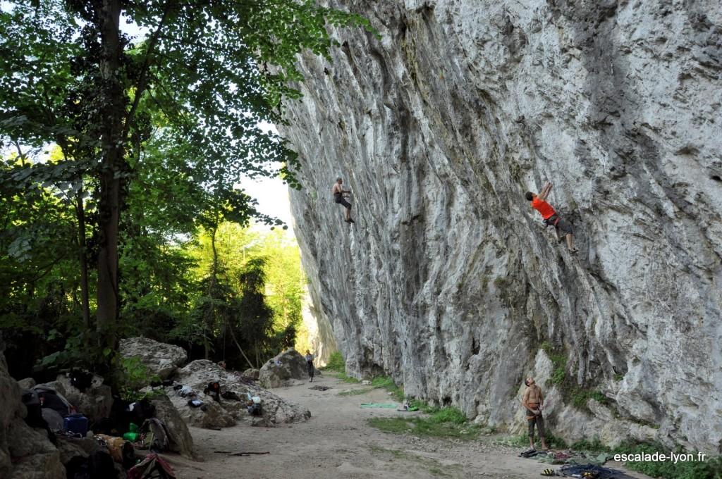 La balme de Yenne (Escalade Lyon)