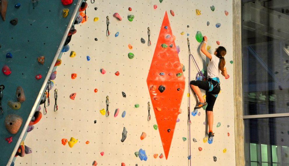 Escalade Jeunes Club Alpin Lyon-Villeurbanne à AZIUM
