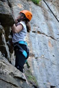 Escalade Jeunes Club Alpin Lyon-Villeurbanne à Curis au Mont d'Or