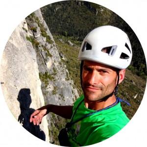 Eric Chaxel moniteur escalade Equilibre Vertical Jonte