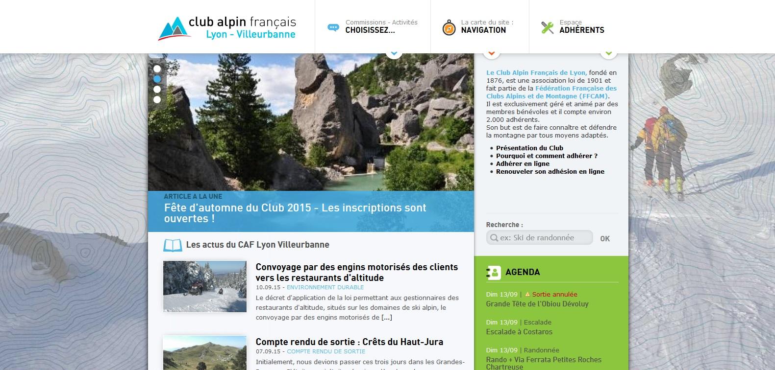 site-internet-club-alpin-lyon-villeurbanne
