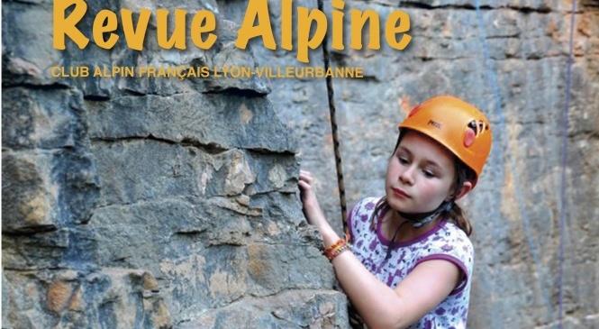 Couverture de la Revue Alpine du club alpin Lyon-Villeurbanne