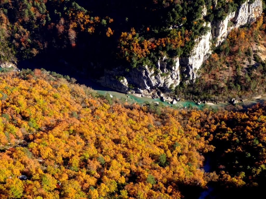 Les couleurs du Verdon en novembre