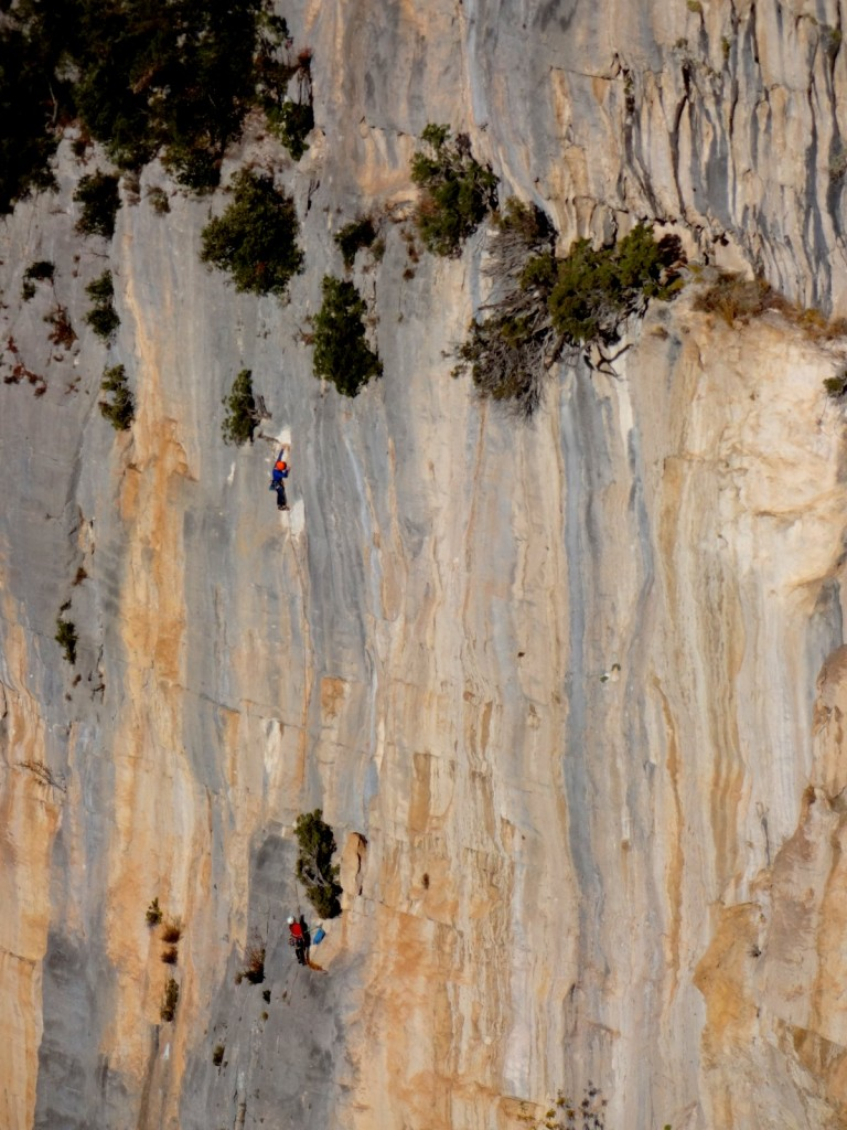 Le mur du bas de la Cerise