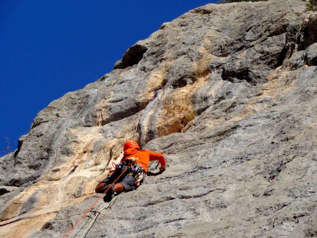 aiglun grandes voies cocotte minute escalade grimpeur