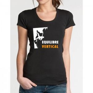 Tee-shirt FEMME en coton BIOLOGIQUE. Tailles S, M et L. Prix : 18 €