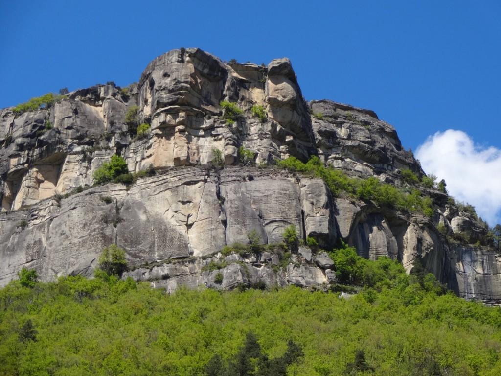 La falaise principale