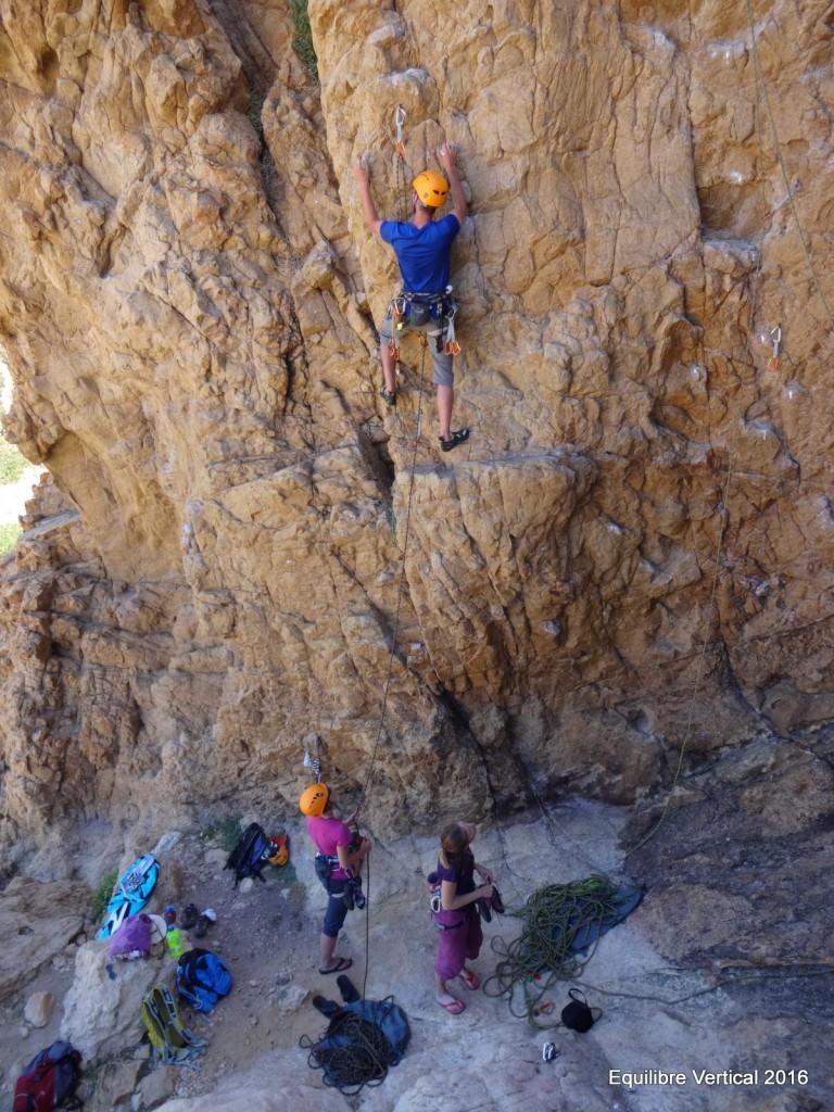 stage escalade corse balagne rock climbing corsica