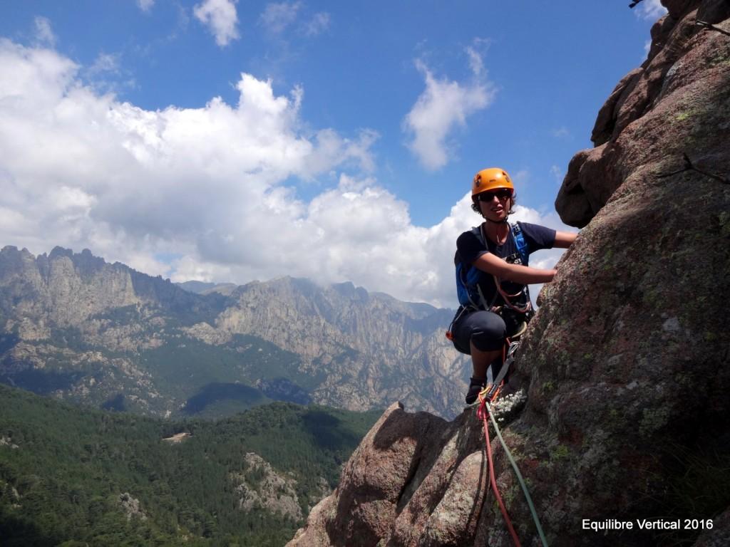 escalade corse stage bavella Punta Caletta