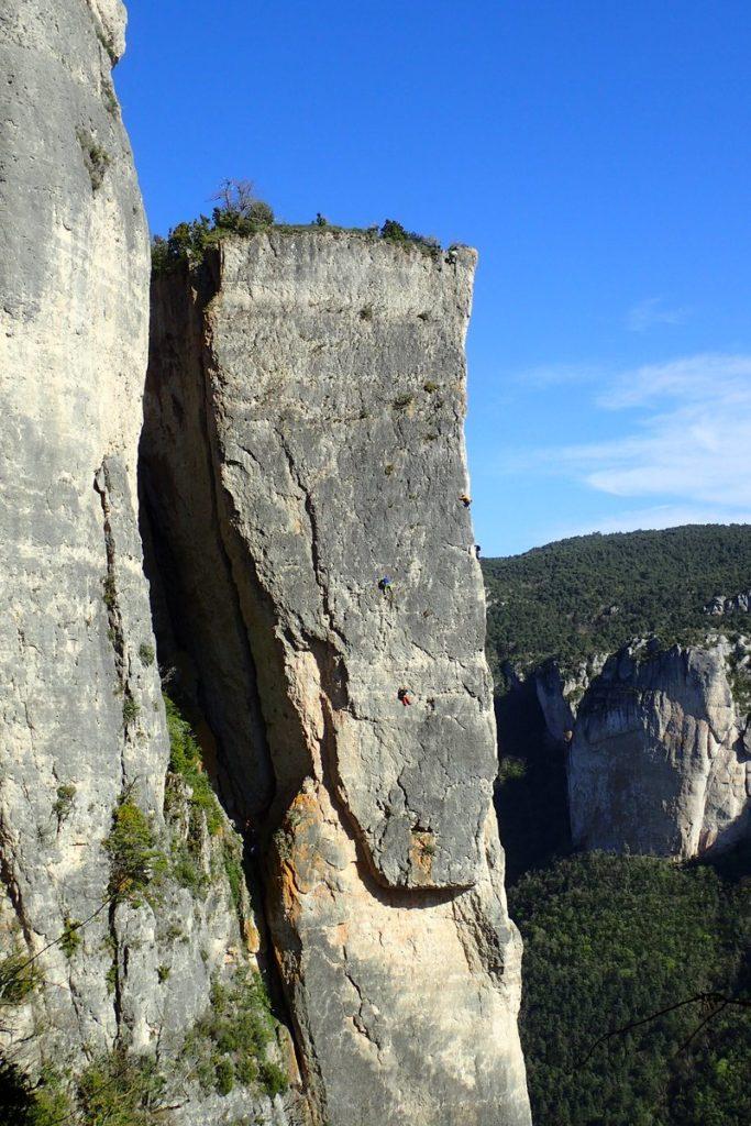 La roche décollée gorges de la Jonte