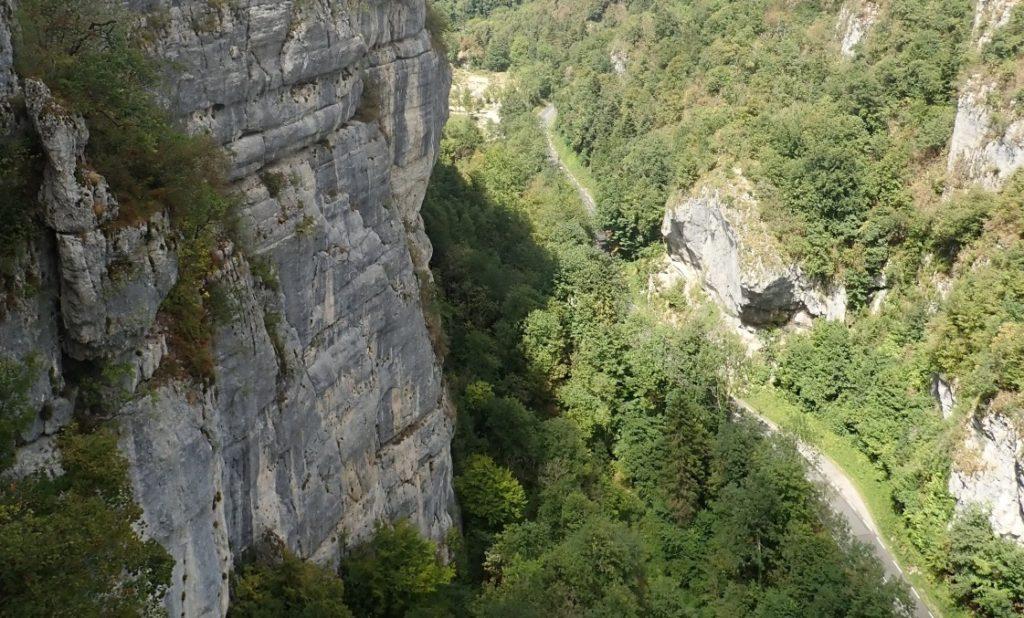 Gorges de Crossey à côté de Voiron (Isère, France)