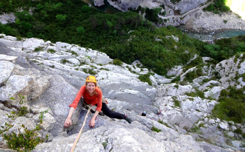 carine-gorges-du-verdon-valse-manon-duc escalade grande voie