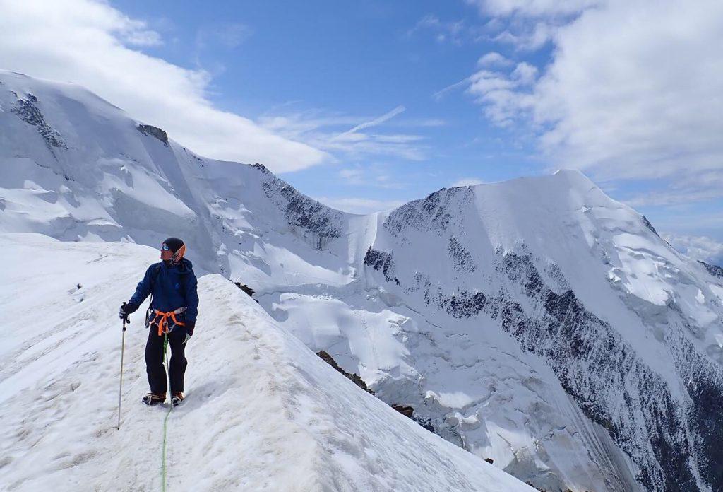 arête-bionnassay-du-goûter-mont-blanc-guide-haute-montagne-alpinisme