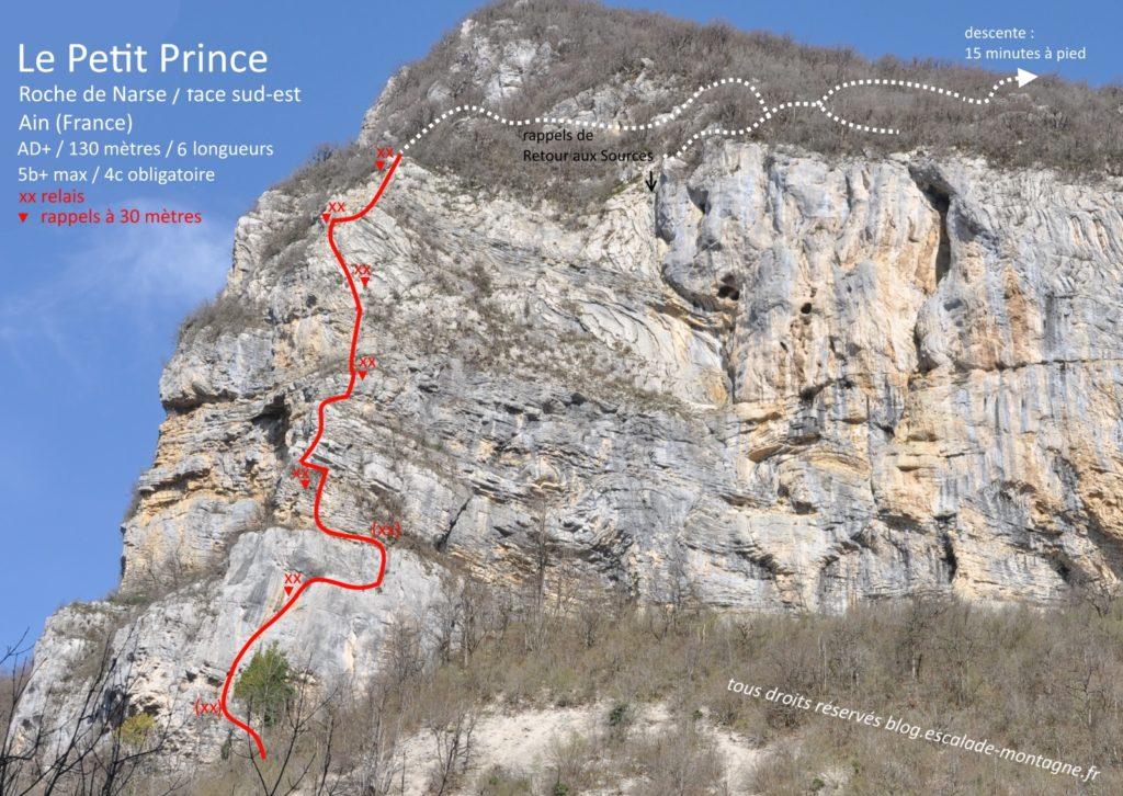 topo-escalade-grande-voie-petit-prince