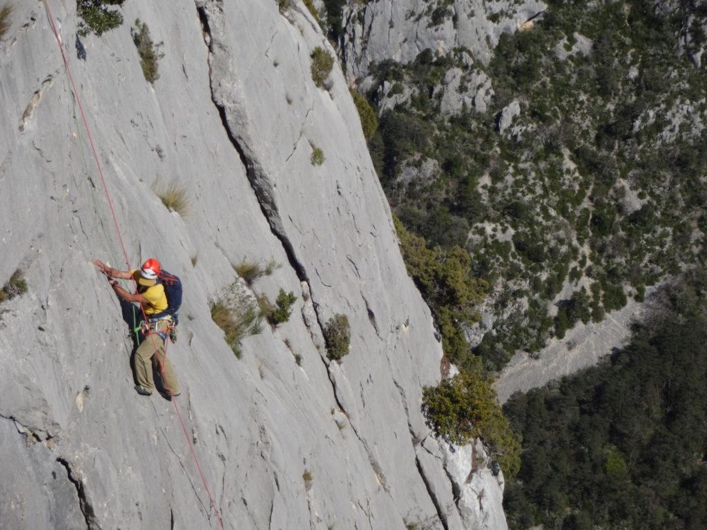escalade-grandes-voies-verdon-corax