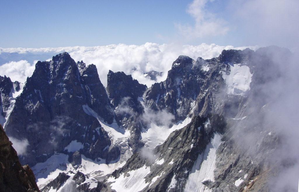 pic sans nom ailefroide juillet 2005 alpi alpinisme oisans écrins