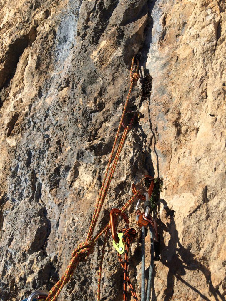 relais terrain aventure presles vercors artif escalade
