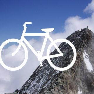 couverture montagne sommet vélo alpinisme