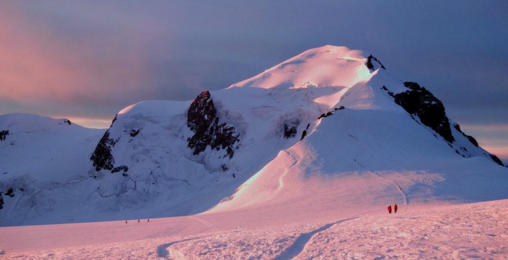 mont-blanc-sommet vallot arête bosses