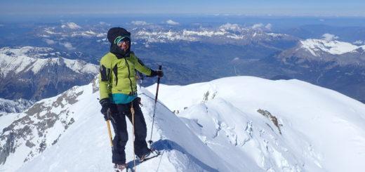 sommet mont blanc alpes guide montagne