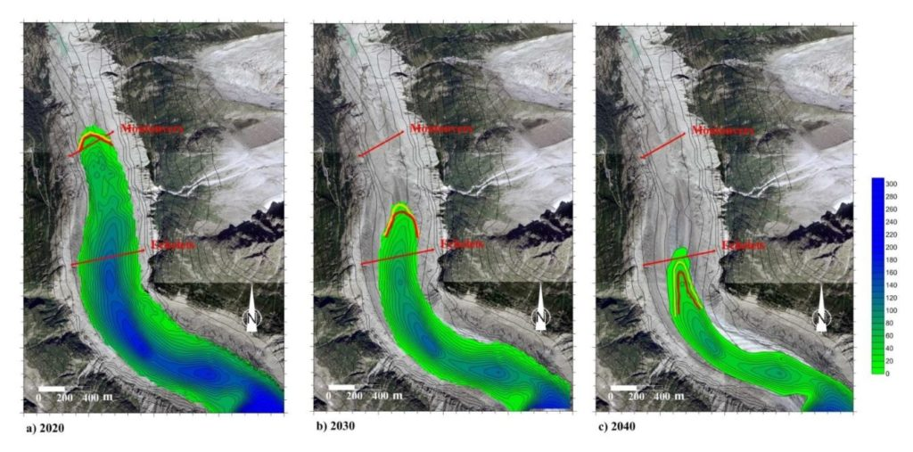 scénario-recul-mer-de-glace-montenvers climat changement climatique