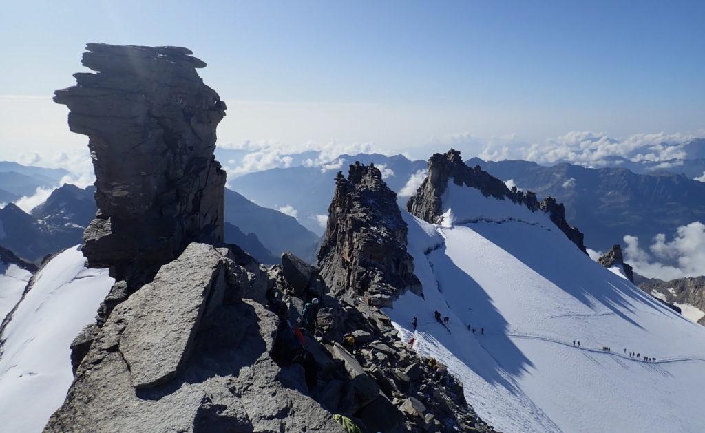 sommet grand paradis gran paradiso italie glacier giode haute-montagne