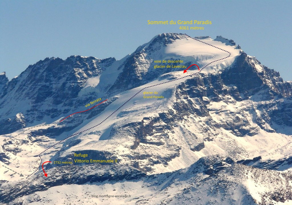 topo-voie-normale-grand-paradis-gran-paradiso-alpi-ski-randonnée