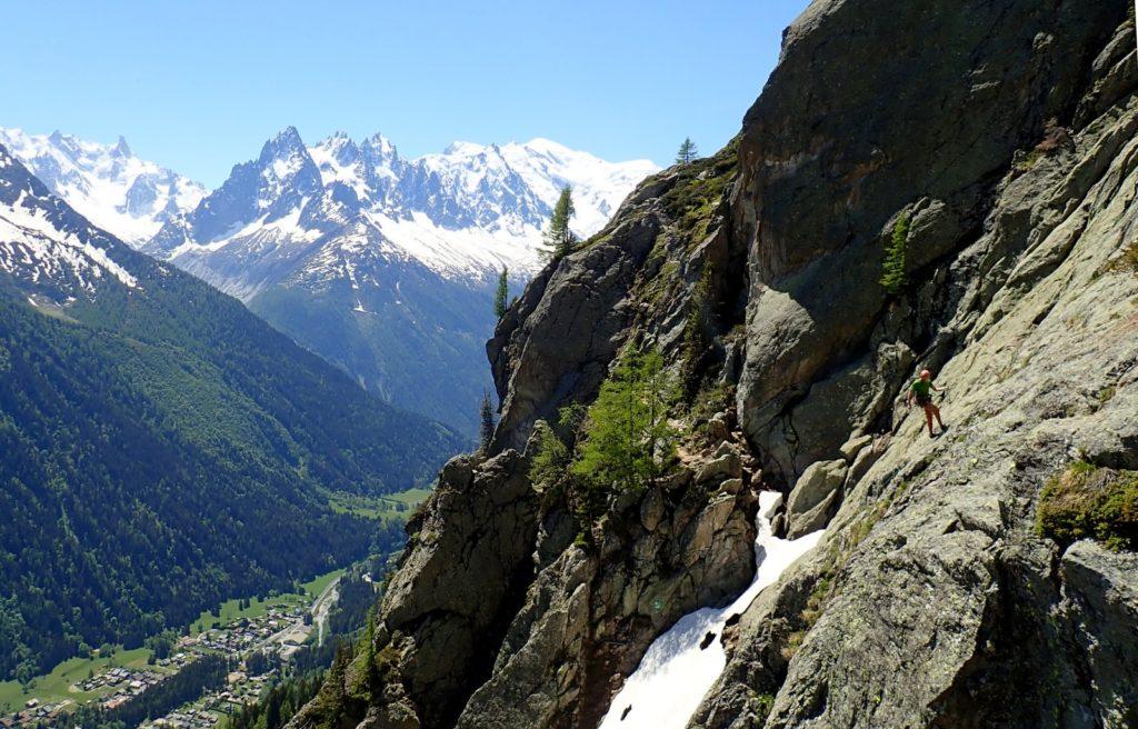 escalade montagne chéserys massif du mont-blanc chamonix