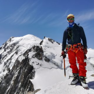 eric chaxel mont blanc tacul guide chamonix