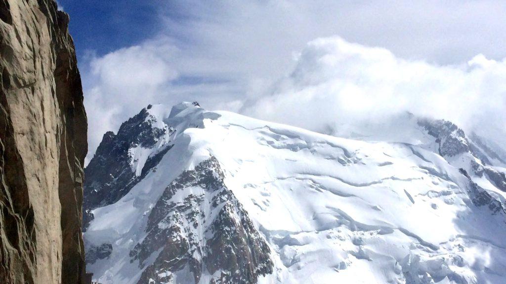 Mont-Blanc tacul alpinisme chamonix aiguille du midi