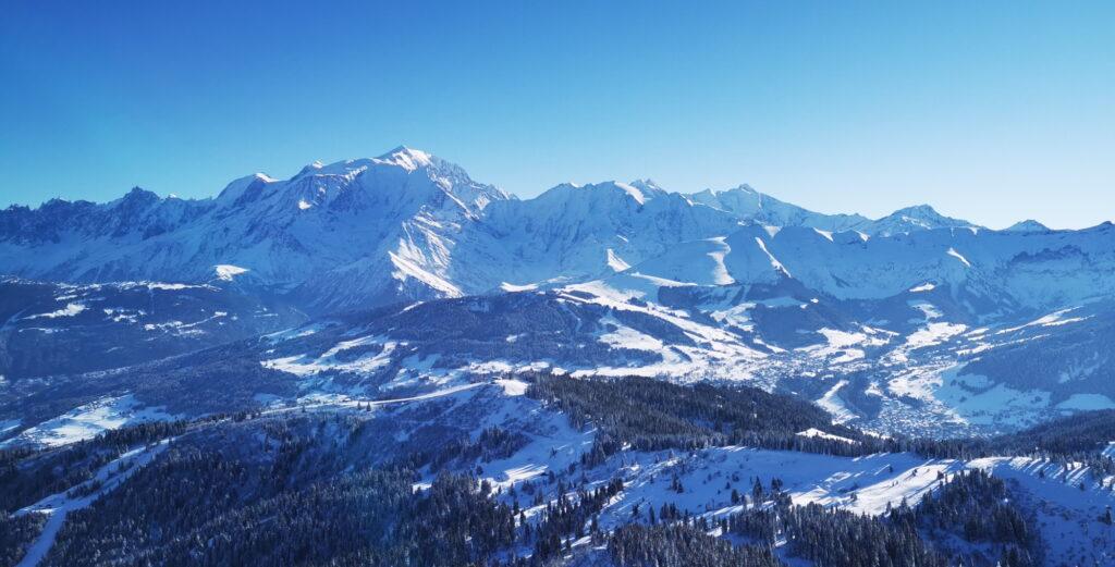massif du mont-blanc, Megève Combloux, mont Joly,